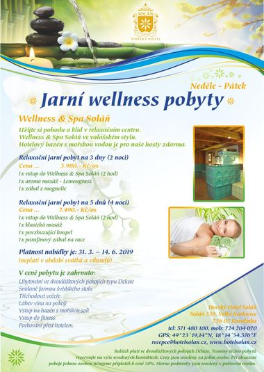 Spring wellness stay